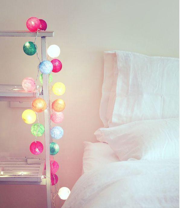 Guirnaldas led para decorar nuestro dormitorio